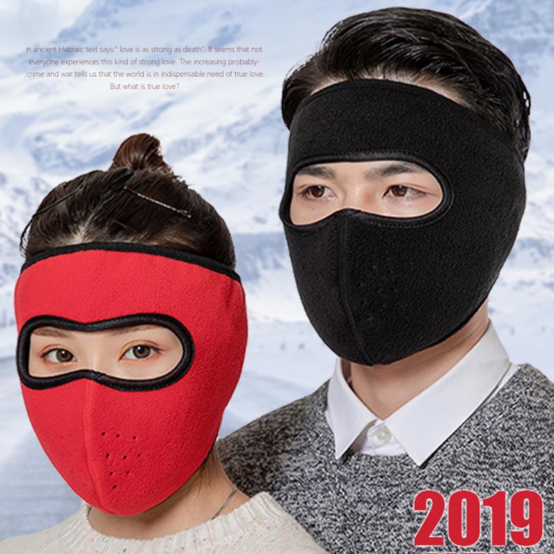 New Outdoor Full Face Mask Ski Mask Winter Warm Ear Motorcycle Cycling Windproof Mask Drop Shipping