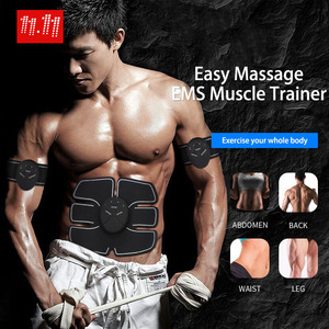 EMS Muscle Trainer Muscle Stimulator EMS Stimulation Body Slimming Device Abdominal Muscle Toner AB Body Massage Products