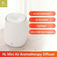 HL Mini Luftbefeuchter Aroma Ätherisches Öl Diffusor Aromatherapie USB Aroma Humidificador Nebel Maker für Auto Home