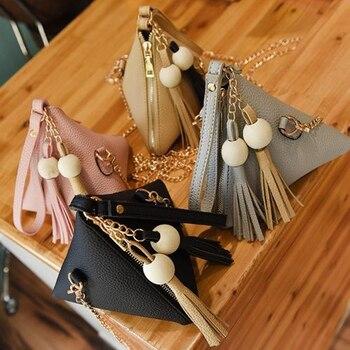 Womens bags Shoulder bag Triangle summer messenger Mini Hand Bag ladies hand small designer
