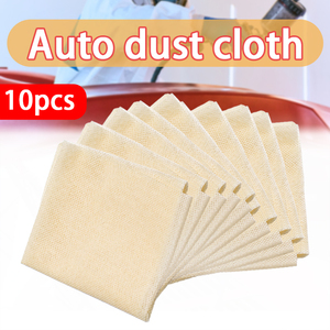 Image 1 - 10Pcs 35x22cm Tack Cloth Rags Sticky Paint Body Shop Resin Lint Dust Automotive Paint Sticky Cloth Dust Cloth Cleaning Cloths