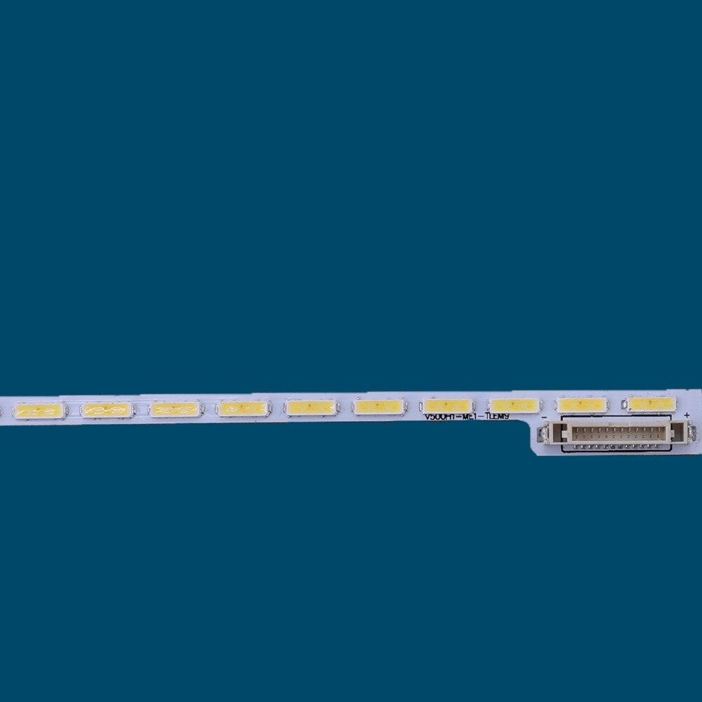 100% New 1pcs/Kit LED strips for TOSHIBA 50 TV 50L1400U 50L2400U 50L3400U 50L1400UC V500HJ1 ME1