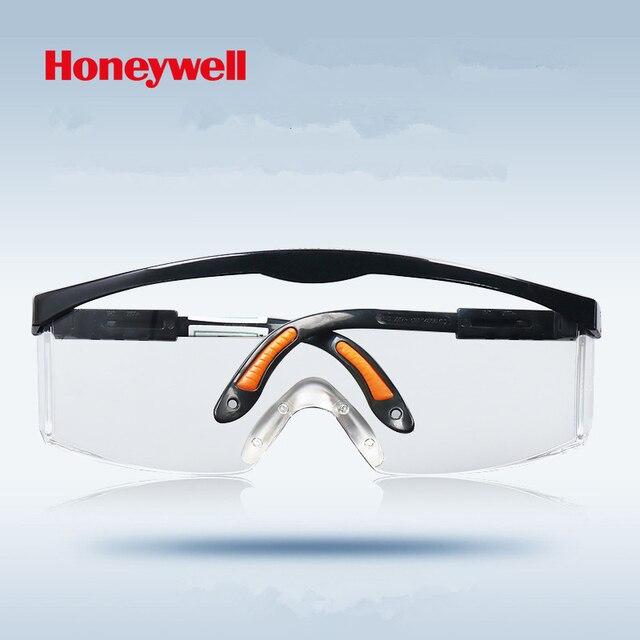 Protection oculaire en verre de travail dorigine Honeywell Anti buée sécurité de Protection claire pour le travail