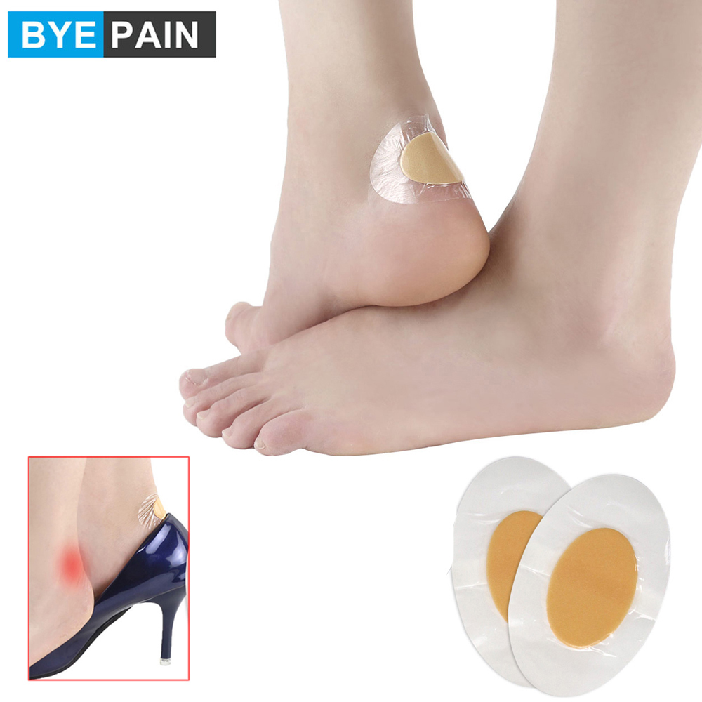 5Pcs/Set BYEPAIN Heel Blister Prevention Cushioned Blister Pads with Adhesive Foam Bandage to Prevent Heel and Toe Blister