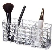 Organizer Acrylic Cosmetic-Brushes-Holder Makeup-Brush Lipsticks-Container Storage-Case