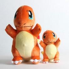 TAKARA TOMY Pokemon 36cm Charmander Stuffed Dolls Lovely Anime Toys Childhood