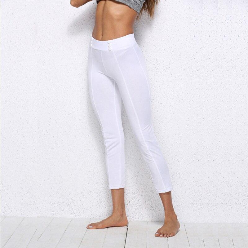 Летние Новые модные женские узкие брюки свободного покроя размера плюс белые Стрейчевые брюки длиной до середины икры обтягивающие брюки