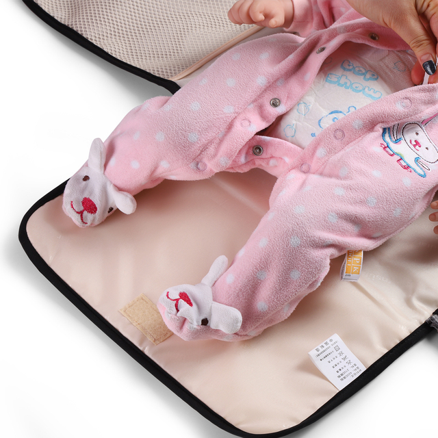 Baby Diaper Changing Mat Baby Changing Pad Waterproof Diaper Change Changing Table Baby Body Extender Portable Diaper Bag Travel | Happy Baby Mama