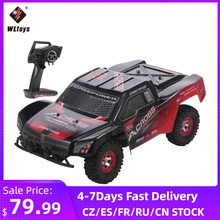 Wltoys 12423 1/12 2.4G 4WD Big Foot Crawler Off load Car 50km/h High Speed Brushed Short Course Truck RTR RC Car VS Wltoys 12428