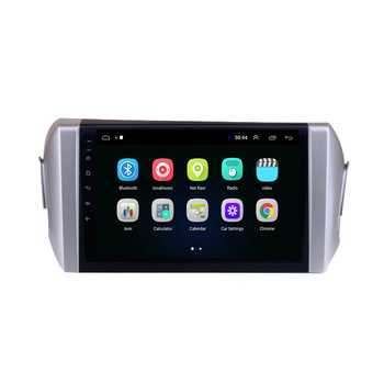 9 octa core 1280*720 QLED screen Android 10 Car GPS radio Navigation for Toyota Innova 2016-2020 image