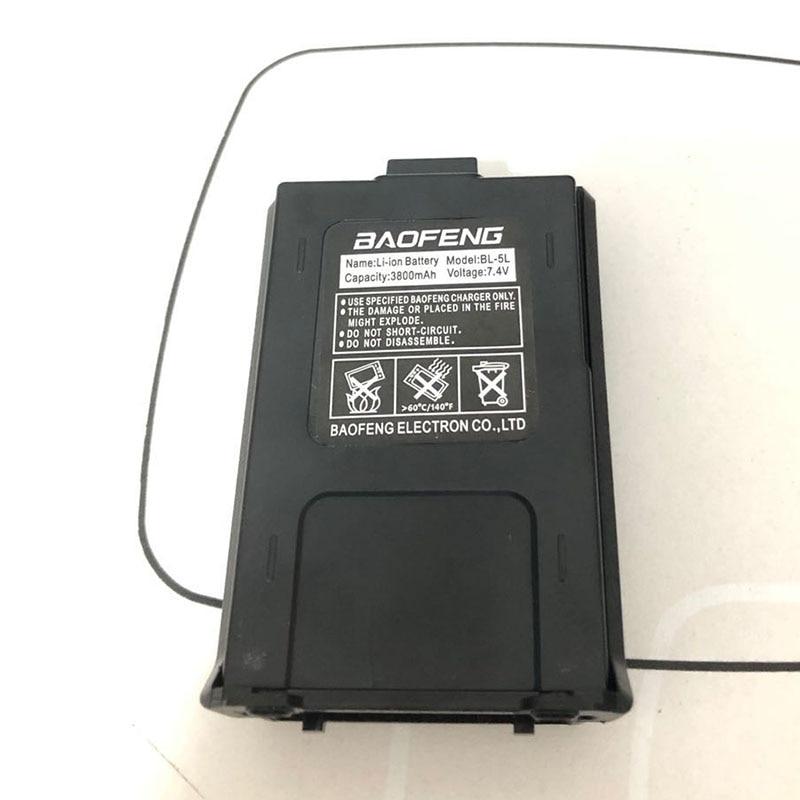 Original Baofeng UV-5R Walkie Talkie Large Capacity Battery BL-5L 7.4v 3800mAh For BF-F8 UV-5RA UV-5RE DM-5R UV5R UV5RE Charger (1)