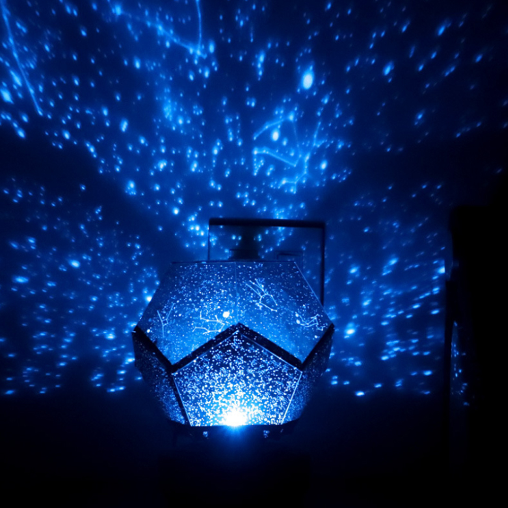 New LED Starry Night Lamp Lamp Constellation Projection Lamp Bedroom Constellation Projector Star Living Room Birthday Party