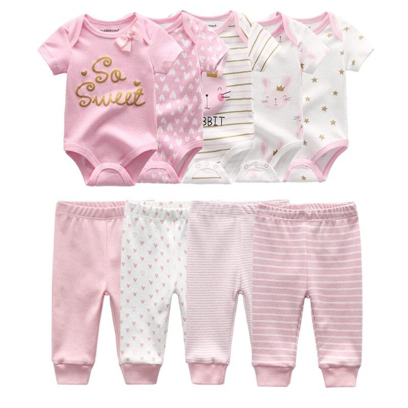 Одежда для маленьких мальчиков, однотонные, комбинация из майки и шортиков + штаны для детей 6/9 шт. из хлопка для маленьких девочек, одежда в с...