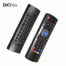 MX3 USB 2.4G Wireless Air Mouse T3 Smart Remote Control Support Partial Key Infrared Learning and Gyro Sensing Game For  System