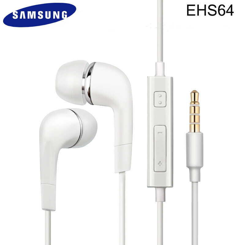 3.5mm SAMSUNG Earphone <font><b>EHS64</b></font> Headsets Wired with Microphone for Samsung Galaxy S8 S8 S9+ etc Official Genuine for Android Phones image