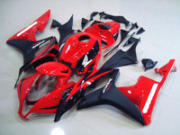 Motorcycle Fairings Kit Fit FOR HONDA CBR600RR 2007 2008 Bodywork set High quality Abs injection Red Black