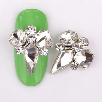 Διακόσμηση νυχιών 10τεμ new crystal glass
