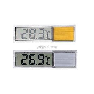 Aquarium Thermometer LCD 3D Di
