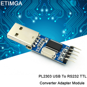 PL2303 USB To RS232 TTL Converter Adapter Module with Dust-Proof Cover PL2303HX