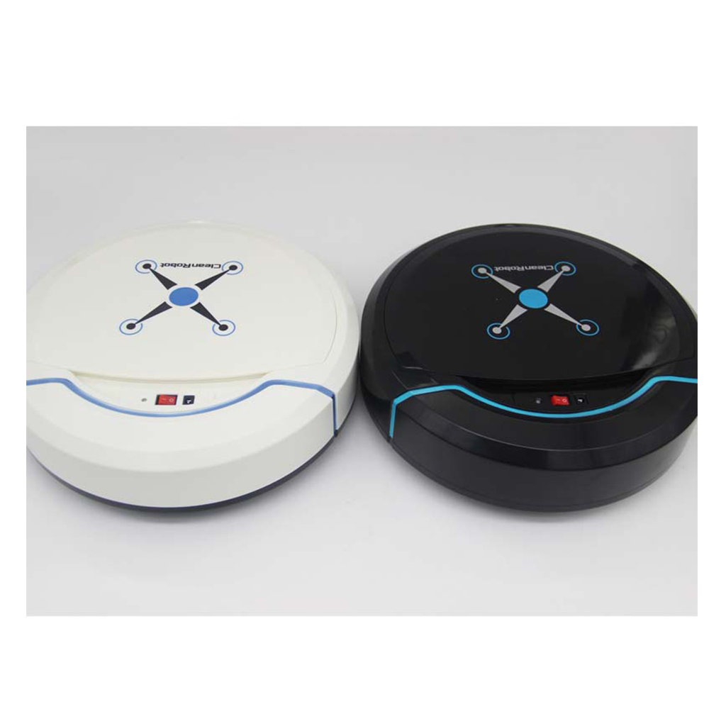 Auto Smart Cleaning Robot Vacuum Cleaner, Low Noise & Slim Design Good For Hard Floors and Low Pile Carpet