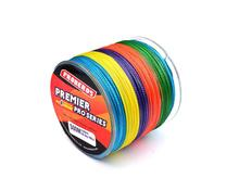 цена на 4 Braid 500M Fishing Line PE Woven High Strength Colorful Fishing Line