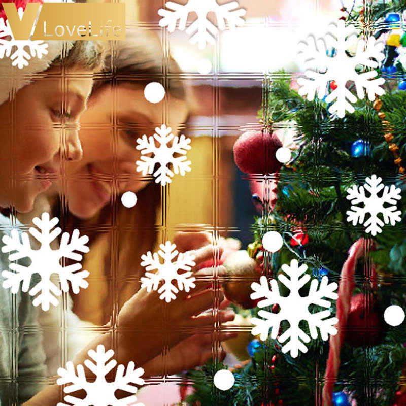 Window Decorations Christmas,Snowflakes Stickers for Windows,Window Stickers PVC