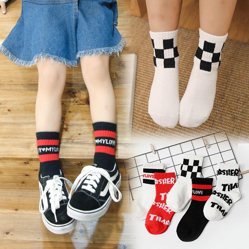 19 Autumn And Winter New Style Big Boy Socks CHILDREN'S Socks Cotton Tube Socks Men And Women Children BABY'S Socks
