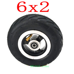 Комплект колес 6 дюймов 6 х2 или шина или внутренняя трубка электрический скутер колесный стул для грузовика шина 6 дюймов F0 пневматическая т...