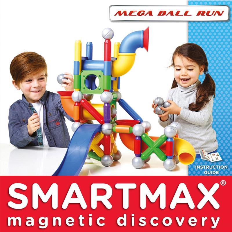 SmartMax Mega Ball Run Make All Kinds Of Crazy Machines Smart Toys