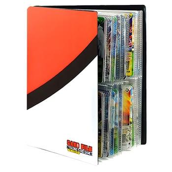 240pcs Cartoon Anime Pokemon Cards Album Book Game Card EX GX Collectors Binder Folder Children Loaded List Holder Capacity Toys