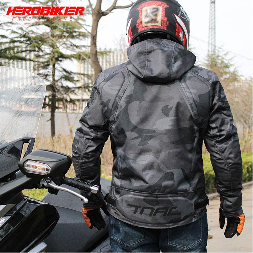 Мотоциклетная куртка HEROBIKER, дышащая водонепроницаемая гоночная куртка для мотокросса, Всесезонная Светоотражающая одежда