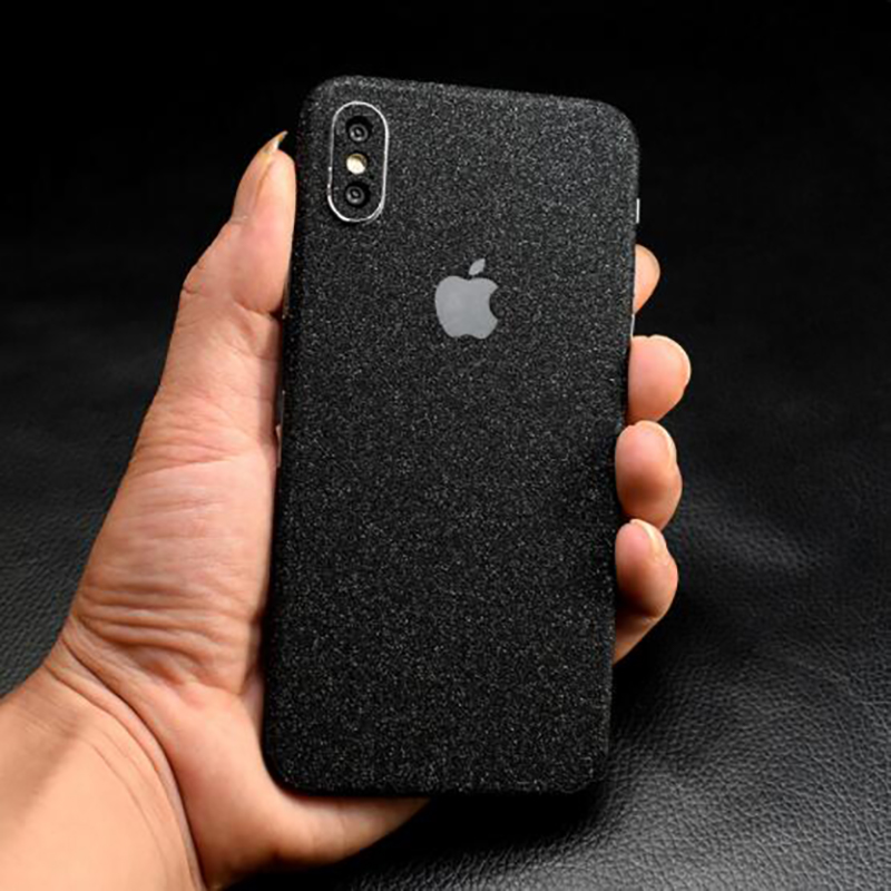New Matte Phone Stickers For iPhone 8 6 6S 7 Plus Back Protector Films Decal For iPhone XS X Back Pegatinas Adesivos Accessories