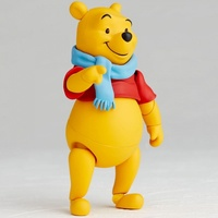 Disney Winnie the pooh movie Pooh Bear Joint movable dolls hunny toys action anime collection model for kids with box 13.5cm