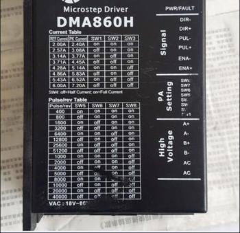 86 stepper motor driver DMA860H MA860H used 6-7 percent new.
