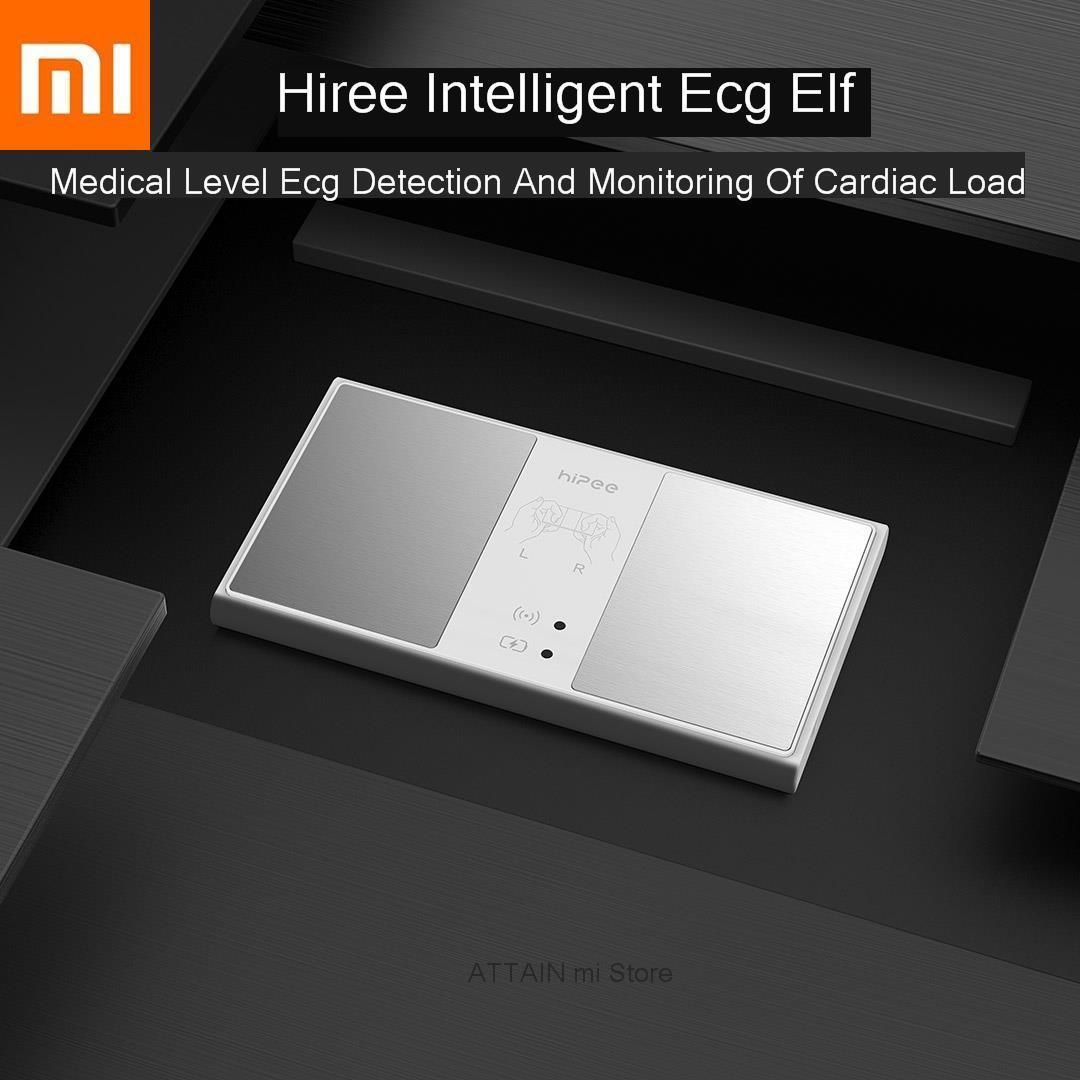 Xiao mi intelligent Hipee Intelligence ECG surveillance de la charge cardiaque dans le niveau médical Ecg détection Xio mi maison pratique et Portable