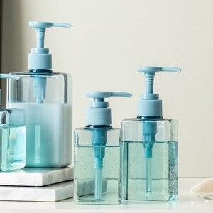 Image 1 - 100,150,280ml Trasparente Riutilizzabile Barattolo Vuoto Portatile della Bottiglia di Emulsione di Plastica Contenitore di Viaggi Shampoo Liquido Trasparente