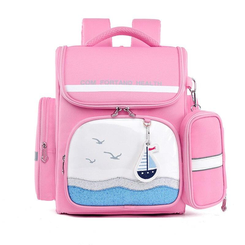 School-Bags Mochila Orthopedic Girls Kids New-Fashion Backpack for Knapsack Escolar-Grade