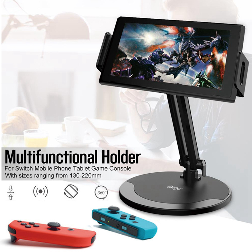 Ipega PG-9158 Universal Phone Holder Mount 360 Degree Desk Table Mobile Stand For NS Switch Lite Tablet Pc Phone Holder Bracket