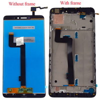 For Xiaomi Mi Max 2 LCD Touch Screen Display For Mi Max2 LCD Screen Panel Digitizer Sensor Panel Assembly 10 Dotyk With Frame