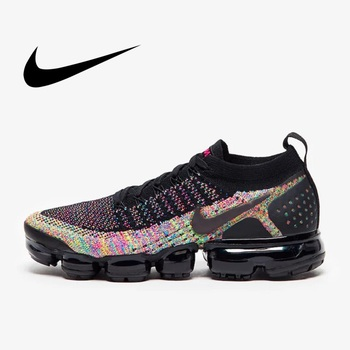 цена на Original NIKE AIR VAPORMAX FLYKNIT 2  Women's Running Shoes Sport Outdoor Jogging Mesh Breathable Sneakers New Arrival 942843