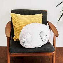 Novelty Cute Seal Plush Toy Sea Lion Stuffed Doll Soft Short Plush Sleeping Pillow Chair Cushion Gift For Kid Children Wholesale cheap 3 years old Cushion Pillow Unisex PP Cotton toys for children Plush Seal Pillow Stuffed Plush Animal Cute Pillow Drop shipping Wholesale