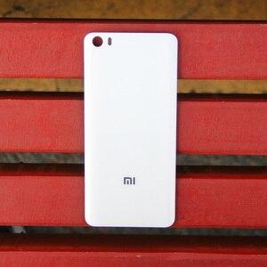 Image 5 - Xiao Mi Xiaomi Mi orijinal cam pil arka kılıf Xiaomi 5 için Mi5 MI 5 M5 arka kapak telefon pil backshell arka kapak + aracı