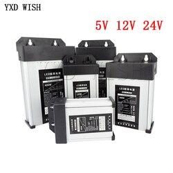 5 12 24 V Volt Power Supply AC DC 5V 12V 24V Switching Power Supply 5A 10A 16A 33A 220V TO 5V 12V 24V Outdoor Rainproof SMPS