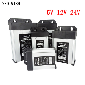 5 12 24 V zasilacz AC DC 5V 12V 24 V zasilacz 5A 10A 16A 33A 220V do 5V 12V 24 V zewnętrzny odporny na deszcz SMPS