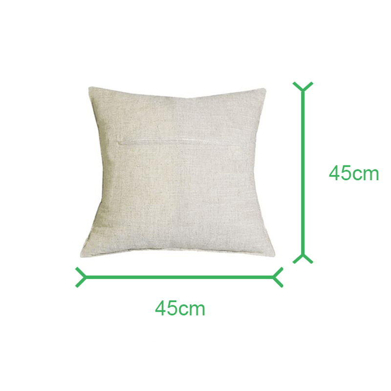 Floral Pattern Cotton Linen Pillow Case Waist Throw Cushion Cover Home Decor