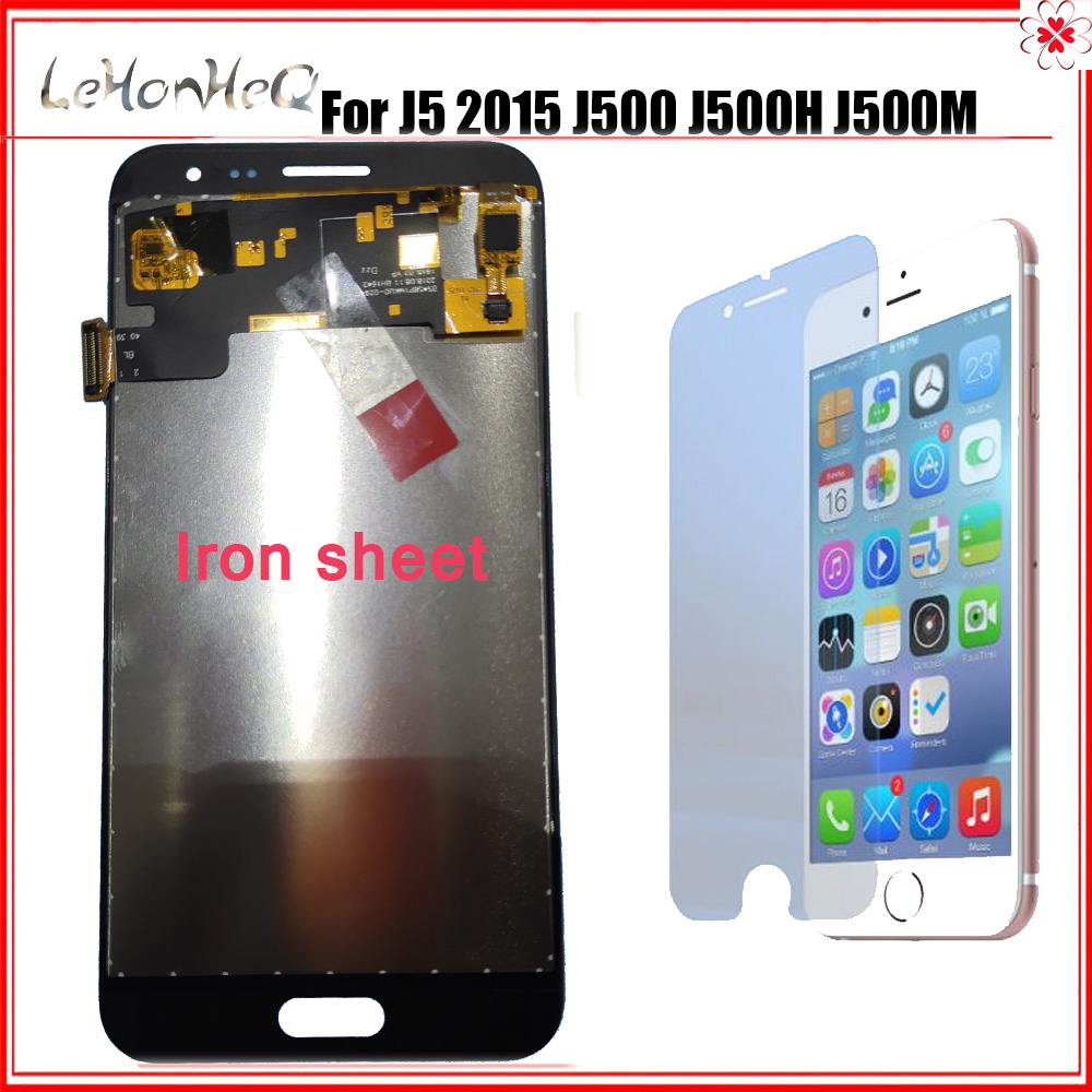 Iron sheet <font><b>J500</b></font> LCD For Samsung galaxy J5 2015 <font><b>J500</b></font> J500F J500G J500M LCD <font><b>Display</b></font> Touch screen Digitizer Assembly image