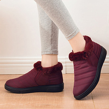 Women Boots For Winter Snow Boots Shoes Woman Ankle Boots Woman Super Warm Botas Mujer Booties Flat Platform Winter Shoes Female цены онлайн