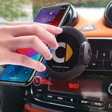 Car Styling Wireless Charger Navigation Mobile Phone Bracket