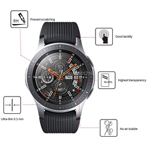 Image 4 - Diameter 22 46mm Round Tempered Glass 9H 2.5D Watch Screen Protector Film for Samsung Huawei Honor AMAZFIT Garmin DW Casio Timex