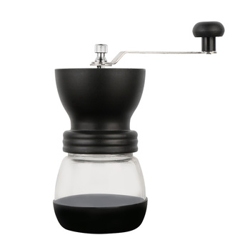 Manual Ceramic Burr Coffee Bean Grinder with Fortified Glass Storage Jar Durable Cafe Bean Mill Coffee Maker Kitchen Tools SP521 5